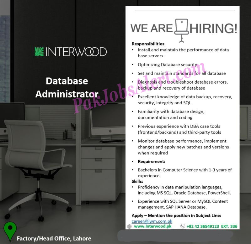 Interwood Mobel Private Limited jobs 2021